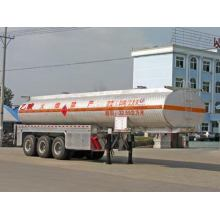 Tri-axle 11m Chemical Liquid Transportation Semi Trailer
