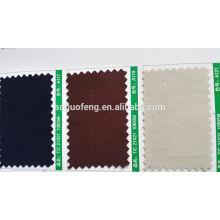 "100% Coton Spandex Twill 280GSM 53/4 ""P / D tissu"