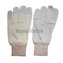 NMSAFETY 2016 nouveaux gants de travail en cuir de porc de conception de cuir pour le marché de l'Asie