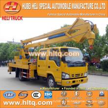 DONGFENG 4x2 HLQ5070GJKE artikulierte obenliegende Arbeitswagen 14M preiswerter Preis heißer Verkauf für Verkauf