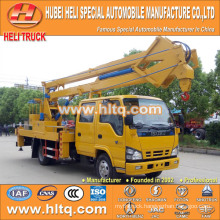 DONGFENG 4x2 HLQ5070GJKE articulated overhead working truck 14M cheap price hot sale for sale