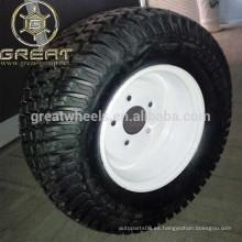 Ruedas ATV de acero de 10 pulgadas con neumáticos