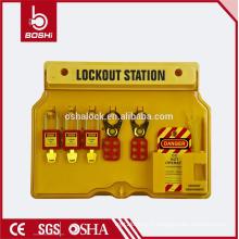 BD-B101 Station de verrouillage de la Chine Station avancée de sécurité électrique et de balisage pour Padlock Hasp