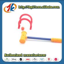 Brinquedos engraçados de croquet de plástico Jogar jogo para criança
