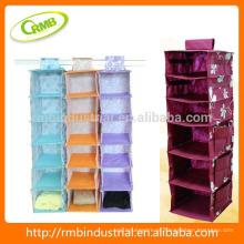 Colorido pendurado saco / armazenamento saco / armário pendurado organizador