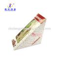 Лучшие и уникальные пациента еда на вынос сэндвич Упаковка Бумажная Коробка коробки упаковки