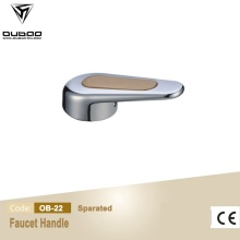 Aleación de zinc Hardware Chrome Die Casting Faucet Handle