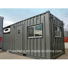 Geringes Preis-vorgefertigtes Behälter-Haus für vorübergehenden Schlafsaal