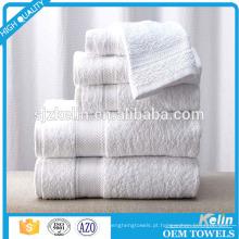 conjunto de toalha de banho de algodão 21s muito suave