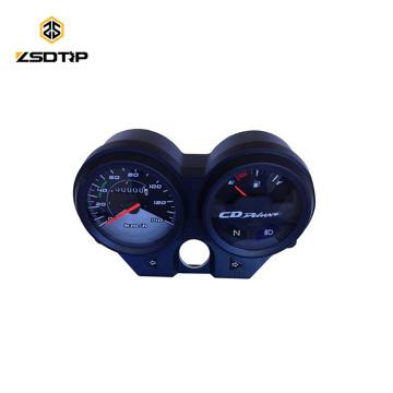 SCL-2013111068 Chine compteur de vitesse moto numérique universel en gros pour la pièce de moto ECO100