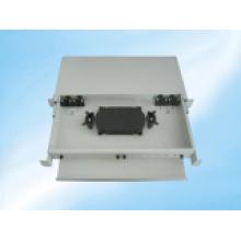 Marco deslizable de distribución de fibra óptica de montaje en bastidor