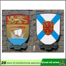 Coat of Arms Metal Emblem