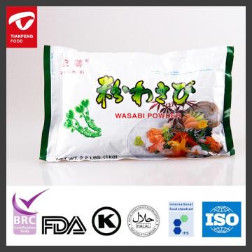Großhandel reines Wasabipulver mit HALAL-Zertifikat