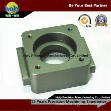 6061 анодированный основания подвергать механической обработке алюминия CNC с ЧПУ