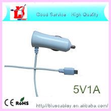 5V1A / 5V2A Colorized Modische USB-Datenkabel Auto Ladegerät für Samsung