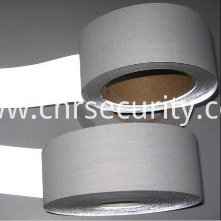 Grey Color Reflective Tape with Polyester Baking Dft1202