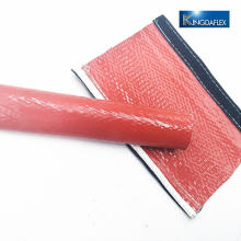 Silicone Coated Glass Fiber Fire Sleeve for heat resistant