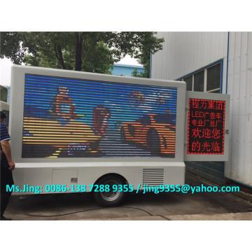 P10 / P8 / P6 conduziu o caminhão do estágio da tela, caminhão claro anúncio móvel da exposição conduzido na venda