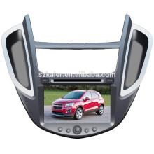 FACTORY! Lecteur dvd de voiture pour Chevrolet TRAX avec GPS, TV, Bluetooth, 3G, ipod, PIP, jeux, double zone, contrôle du volant