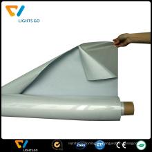filme de vinil de calor reflexivo de prata luz alta em têxteis para 50 ciclos de lavagem
