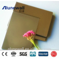 Alunewall 2 meter width fireproof Embossed Aluminum Composite Panel factory price