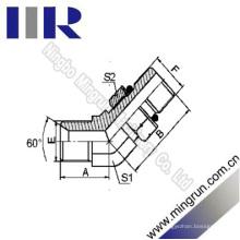 45 Elbow Bsp mâle / SAE Joint torique hydraulique (1BO4-OG)