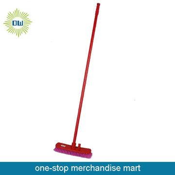Daily Use Red Road Broom