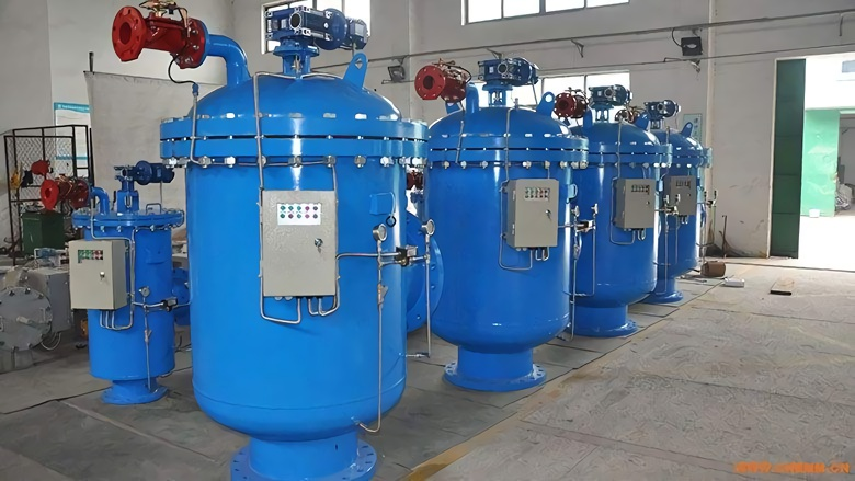 self-cleaning water filter industrial