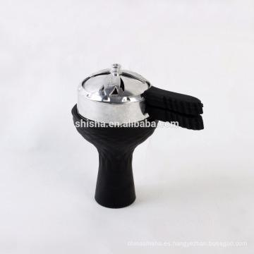 alta calidad de silicona vortex shisha cachimba cabeza bol kaloud