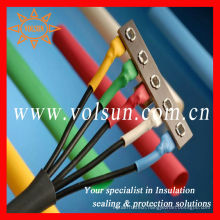 Nonslip heat shrink tube dragon boat paddle
