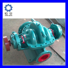 SH série type horizontal double aspiration split case agricole diesel pompes à eau