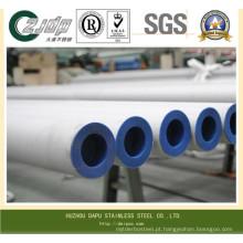 Tubo sem costura ASTM A269 Tp316L em aço inoxidável