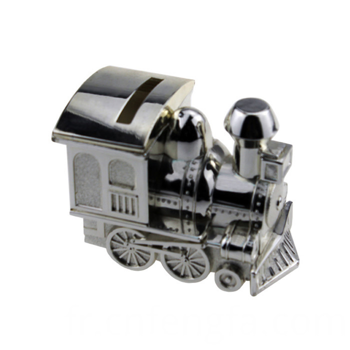 Hot sell little train piggy bank