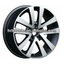 Black beautiful sports ace réplique des roues pour Das auto