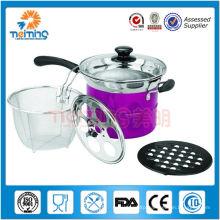 stainless steel stock pot, stainless steel pot set