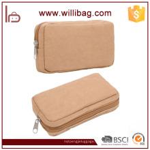 Fabricantes al por mayor Recycle Brown Craft Paper Wallet