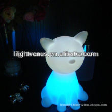 Beautiful animal shape LED Cat kids Light