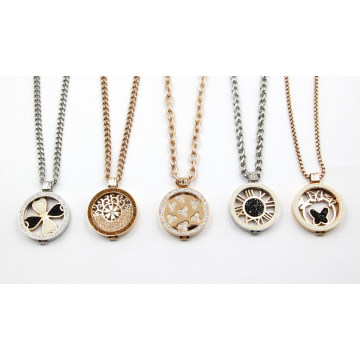 Wholesale 316L Stainless Steel Living Locket Necklace