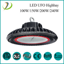 IP65 Waterproof 150w Led UFO Highbay Light