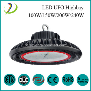 IP65 Waterproof 150w conduziu a luz de Highbay do UFO