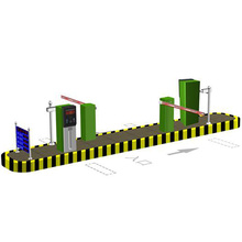 DC Motor Traffic Barrier Gate Sistema de estacionamento do carro