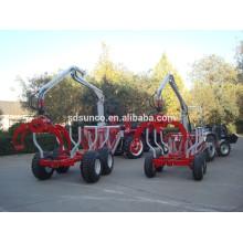 Remorque à bois ATV avec grue / remorque à grue avec grue ZM3004