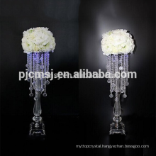 cheap wholesale crystal centerpiece for home decoration & wedding