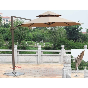 Fancy Design Alum Pole Garden Roma Umbrella