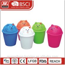 HaiXing Popular plastic Cat waste Bin