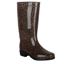 New design fashion soft rubber hunting boots rain shoes colorful women natural rubber rain boots
