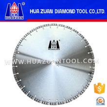 Lame de scie de hachage circulaire soudée par laser chaud de diamant de vente pour le béton