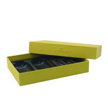 Бумажная цельная подарочная коробка с крышкой