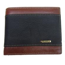 Bolsas de cor de contraste carteira casual para homens