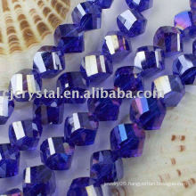 crystal twist beads